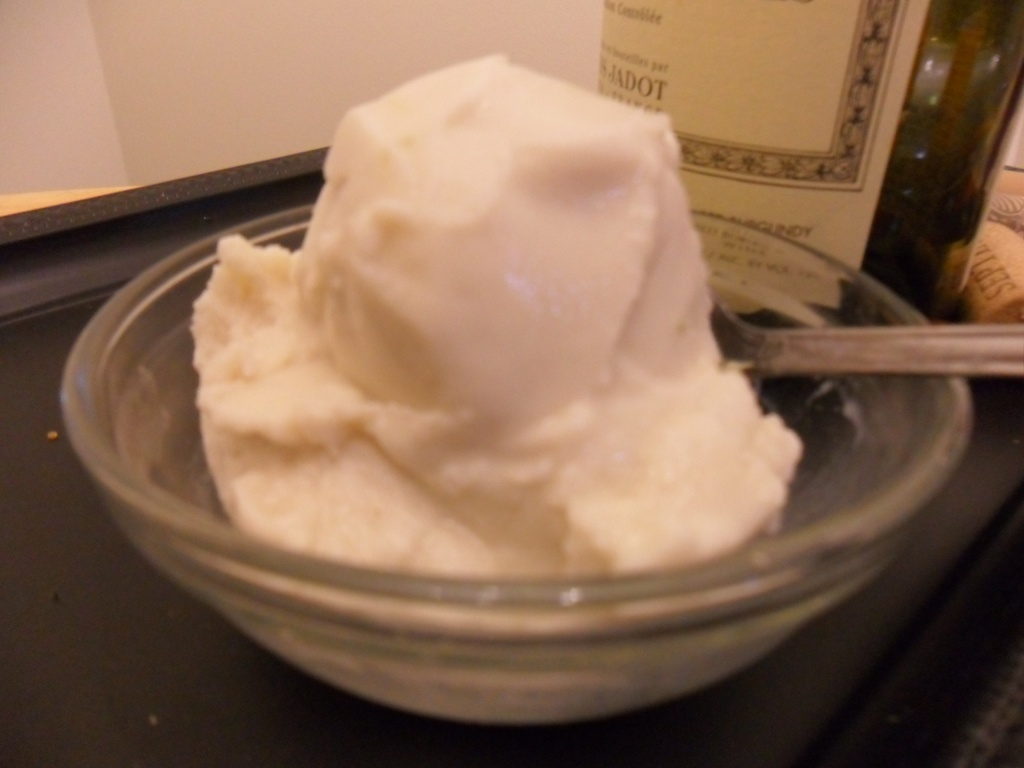 Almond Milk Ice Cream