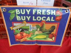 And get your veggies local if you can!