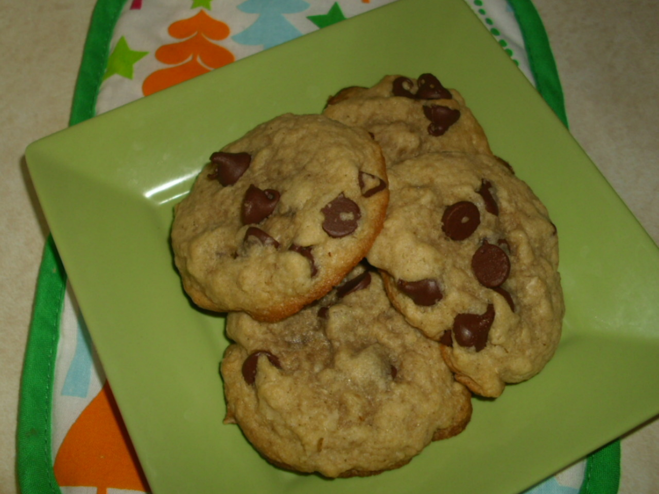 Eating Well's Healthy Choc-Chip Cookies