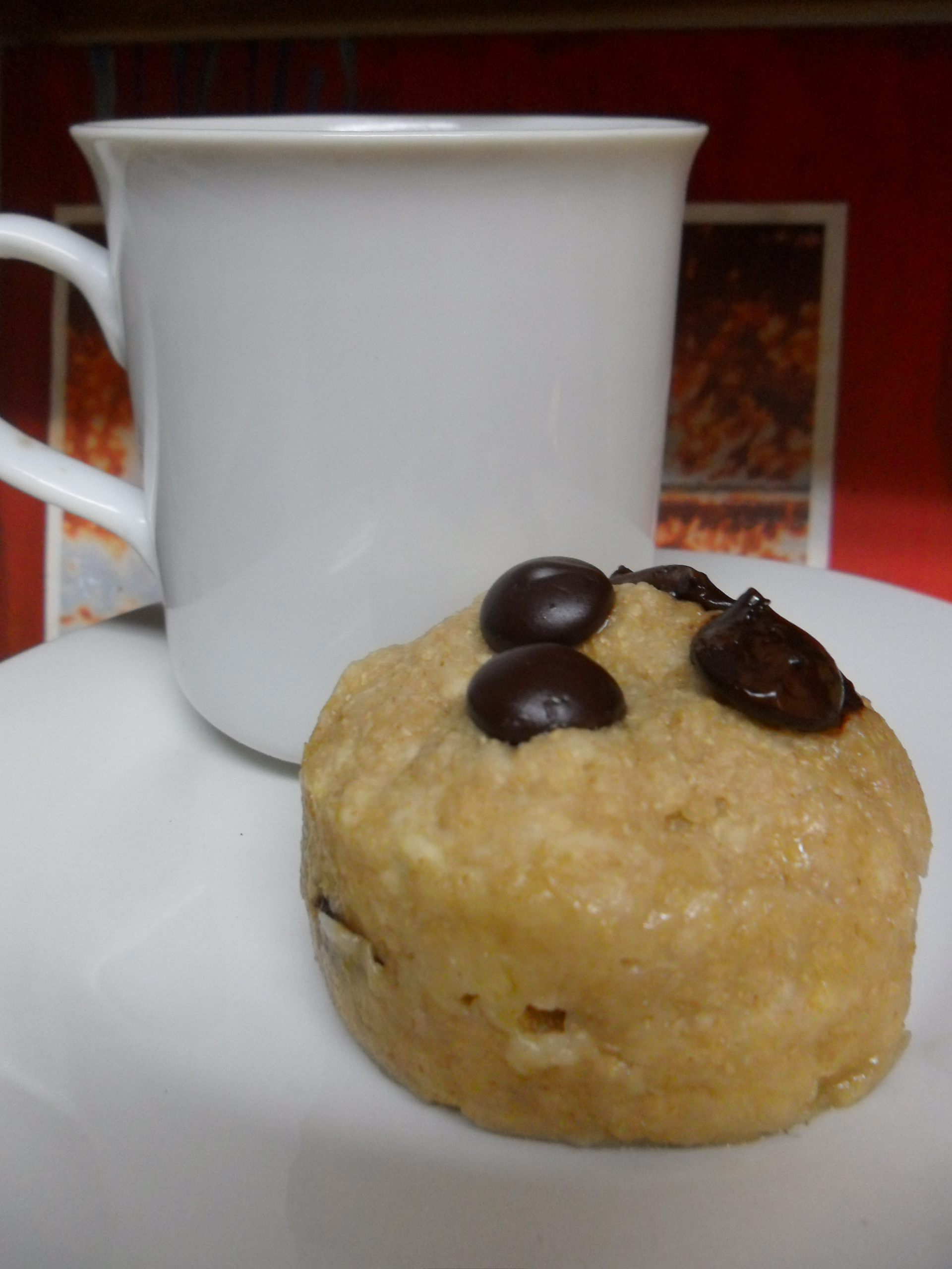 Chocolate-Chip Mug Muffin | Collegiate Culinaire